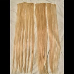 """New 24"""" Blonde Hair Extensions #107"""